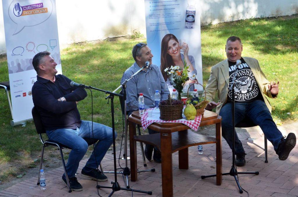 Muzeji za 10 -  Zoran Knežev u Arhivu Vojvodine, Program Subotnji razgovori u Arhivu