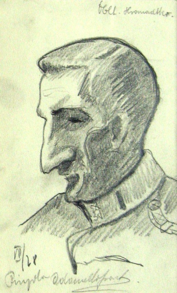Milan Konjović - Poručnik