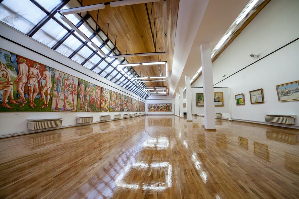 Galerija slika Sava Šumanović - izložbeni prostor od 600 metara kvadratnih