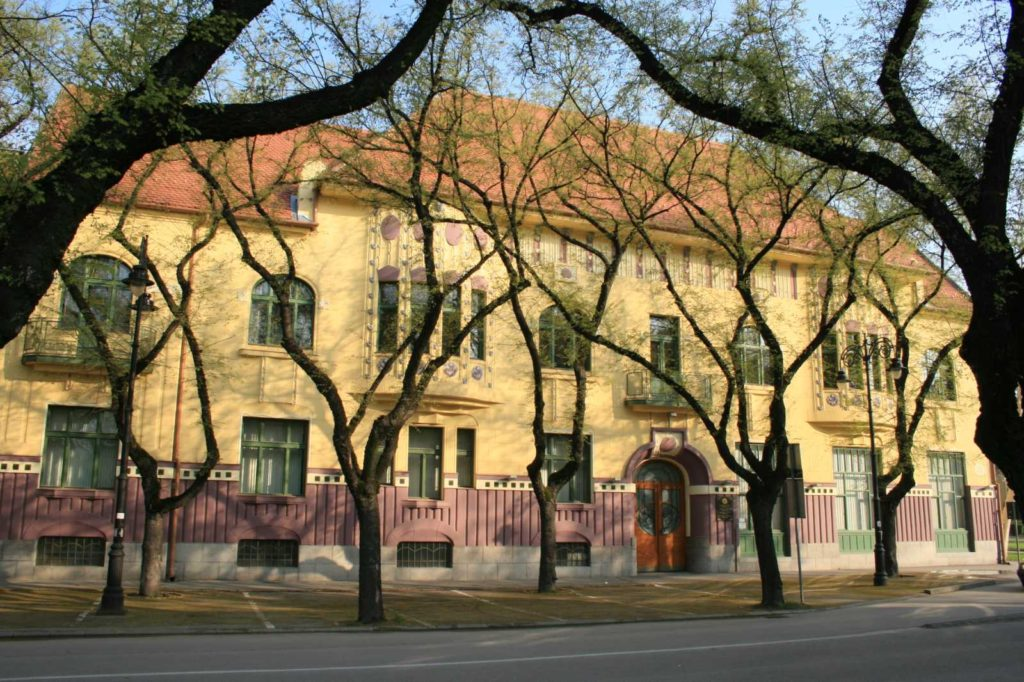 Gradski muzej Subotica - zgrada muzeja na Trgu sinagoge