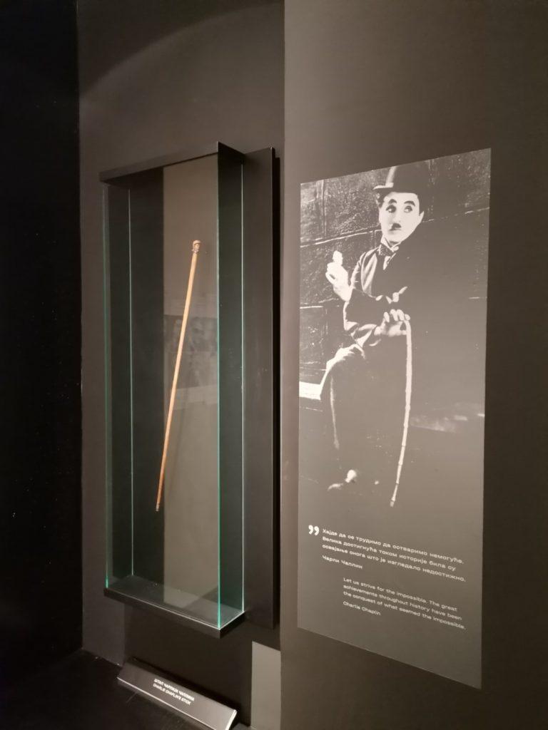 Jugoslovenska kinoteka, nova stalna postavka, Čarli Čaplin - Muzeji za 10