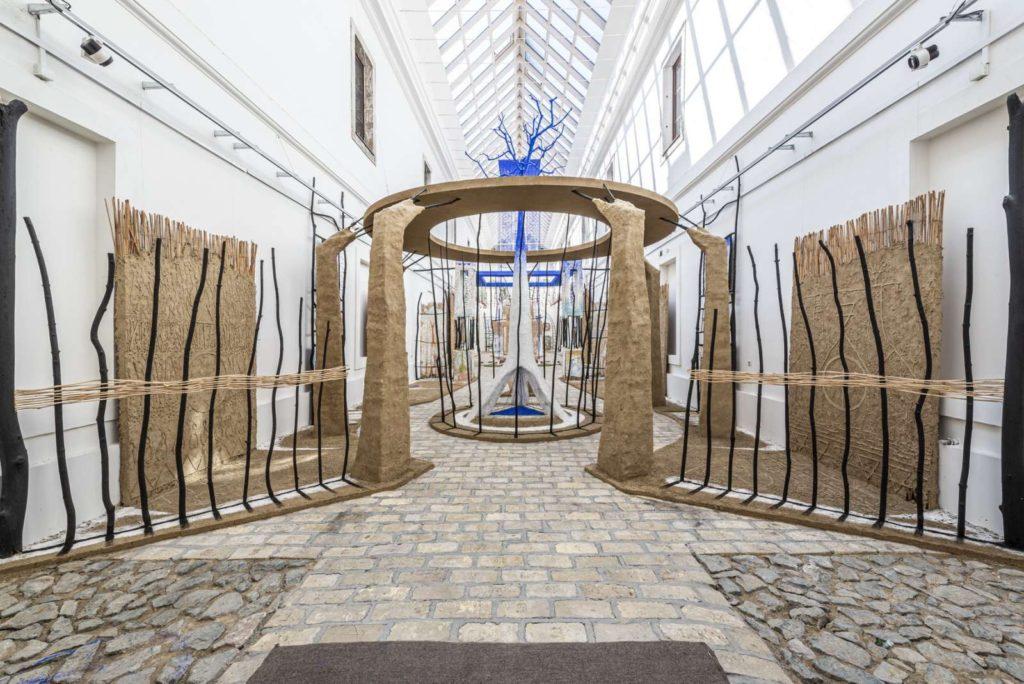 """Izložba """"Kretanje prostora"""" u Muzeju grada Novog Sada na Petrovaradinu"""