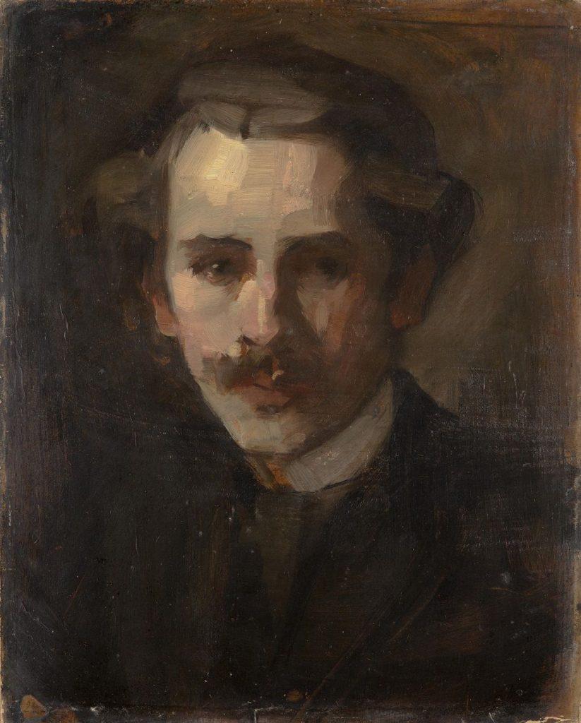 Autoportret, 1902, Milan Milovanović, SZPB