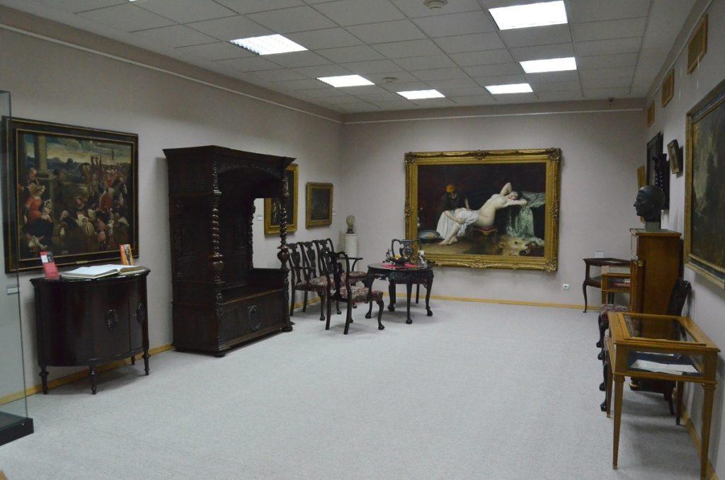 Memorijal Pavle Beljanski kao segment izložbene celine SZPB