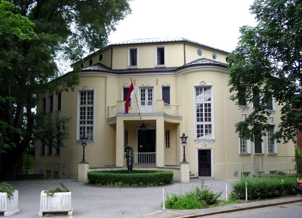 Galerija likovne umetnosti poklon zbirka Rajka Mamuzića - zgrada galerije