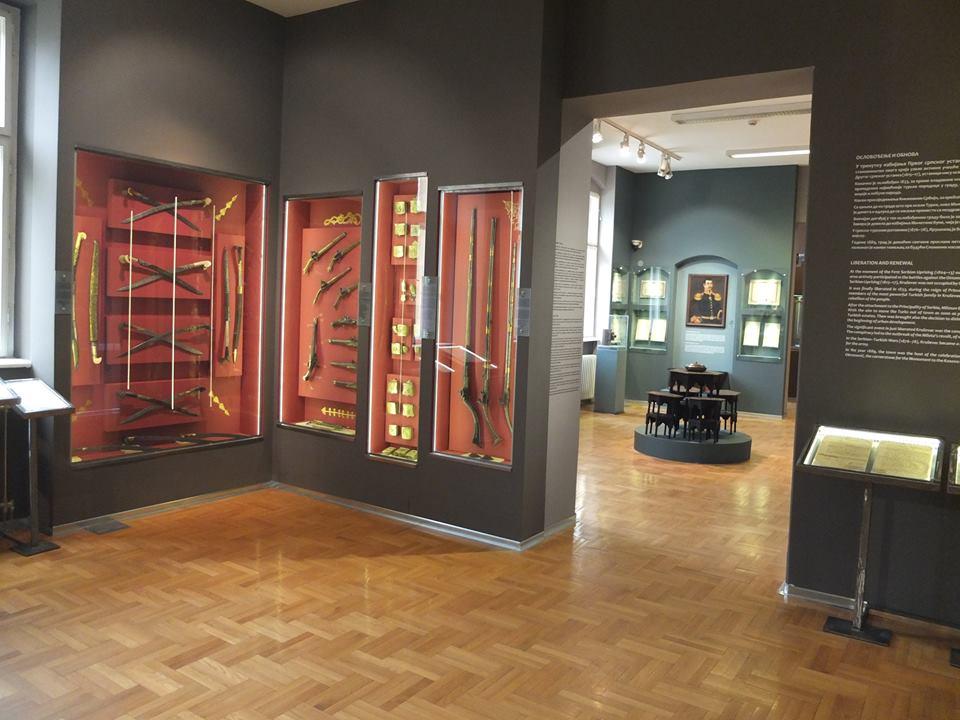 """Muzejska postavka, Narodni muzej Kruševac,  Manifestacija """"Muzeji za 10"""" 2021. godine"""
