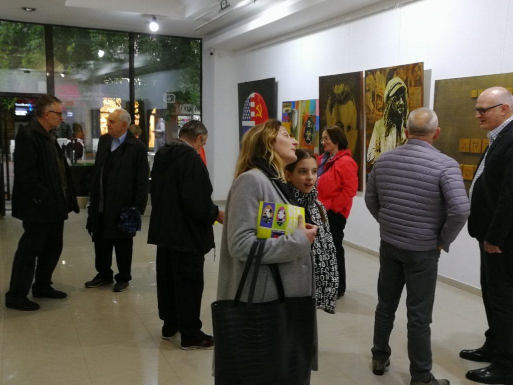 Posetioci, Galerija savremene umetnosti, Narodni muzej Požarevac