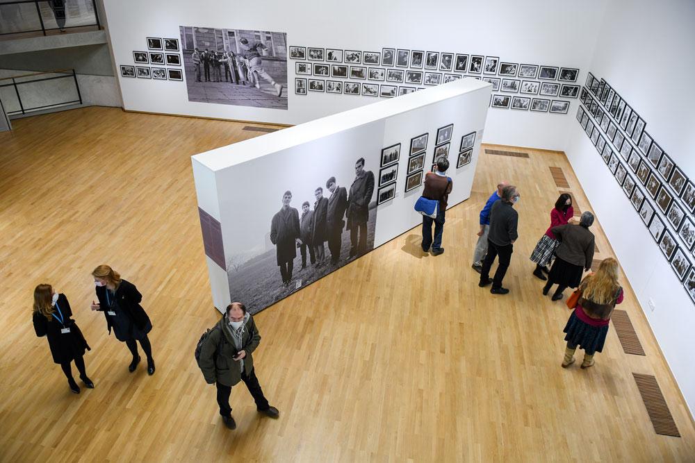 """Posetioci, Muzej savremene umetnosti Beograd, Manifestacija """"Muzeji za 10"""", 2021."""