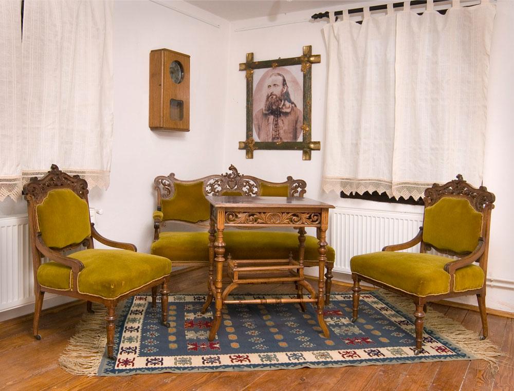Detalj salona iz Protine kuće