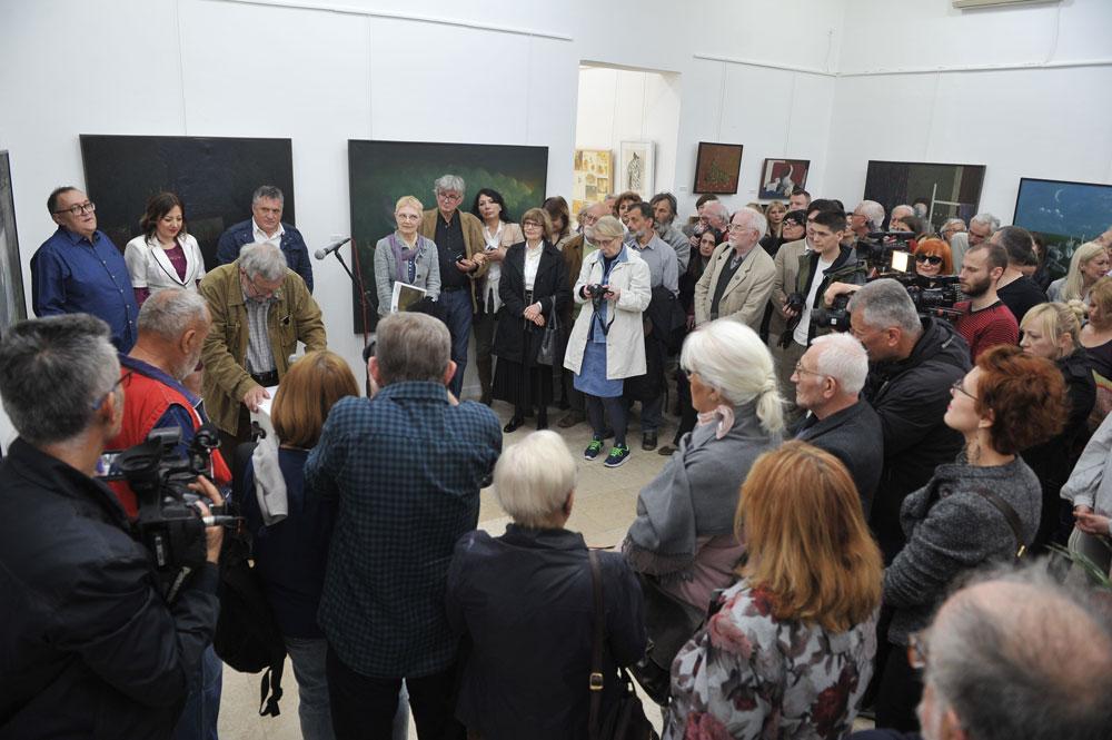 Sivački - izložba, Moderna galerija Valjevo