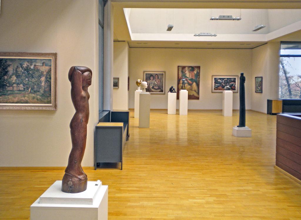 Umetnička Galerija Narodnog Muzeja Kragujevac,eksponat stalne postavke
