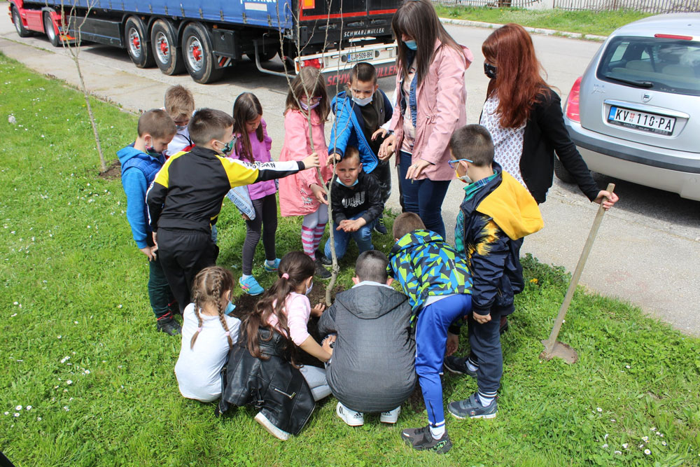 """Radionica za decu """"Ekološka učionica"""",Kulturni cenar Ribnica, 2021. godine, Manifestacija Muzeji za 10"""