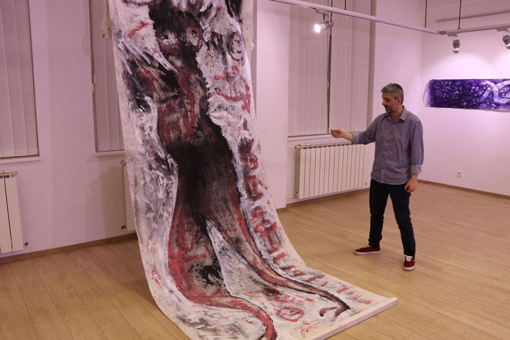 Autor izložbe, Centar za kulturu Sopot, Manifestacija 2021. godine - Muzeji za 10