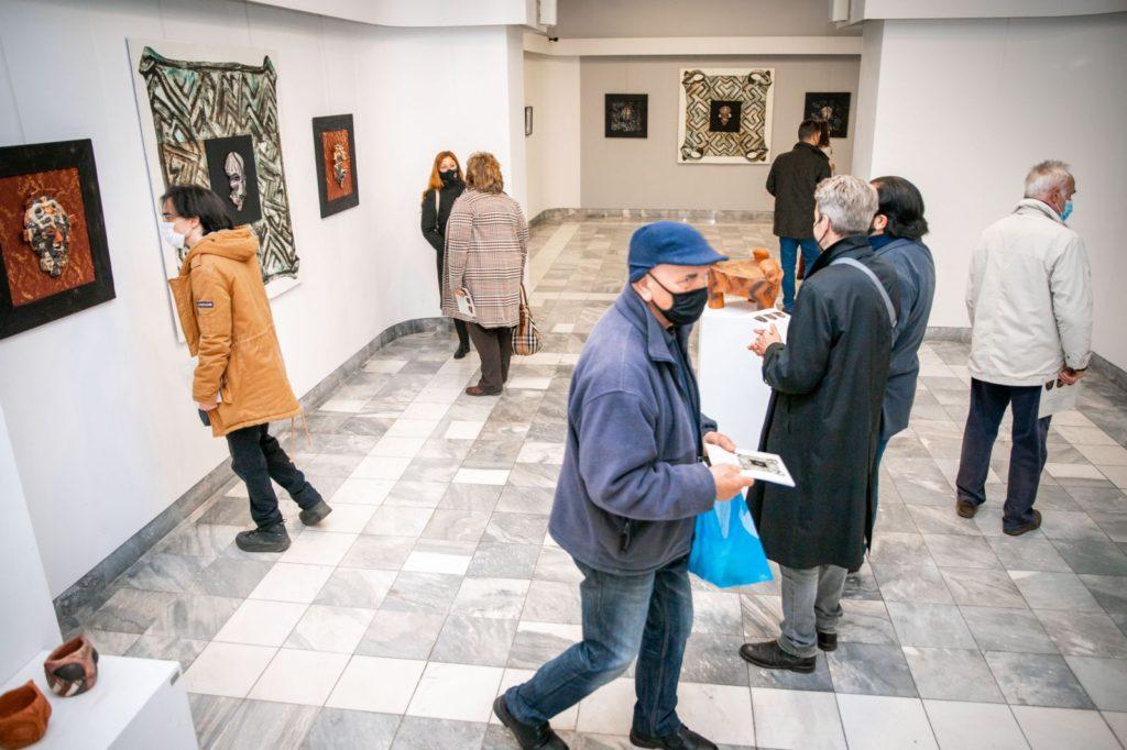 "Posetioci, Galerija Kulturnog centra ""Laza Kostić Sombor, Manifestacija Muzeji za 10, 2021,"