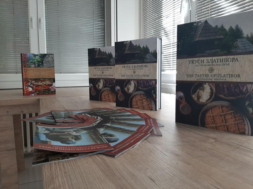 """Knjiga """"Ukusi Zlatibora"""", Zavod za proučavanje kulturnog razvitka, """"Muzeji za 10"""", Manifestacija 2021. godine"""