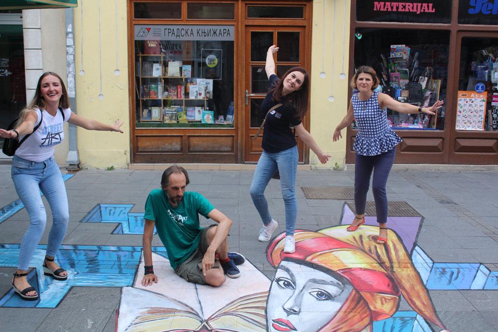 Street Art, Kulturni cenar Ribnica, 2021. godine, Manifestacija Muzeji za 10