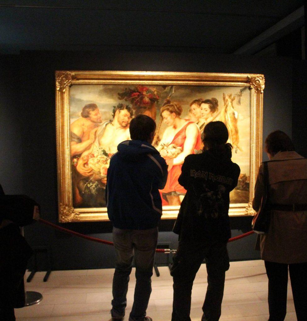 Za VR izložbu Rubensovi krugovi u Narodnom muzeju u Beogradu, Manifestacija Muzeji za 10, 2021