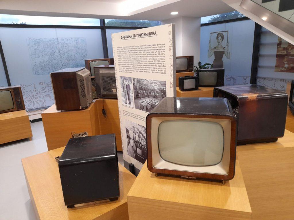 Televizor, eksponat, Naučno-tehnološki park Niš, Manifestacija Muzeji za 10, 2021.