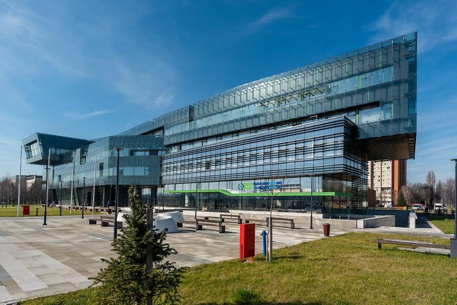 Naučno-tehnološki park Niš, zgrada spolja, Manifestacija Muzeji za 10, 2021.
