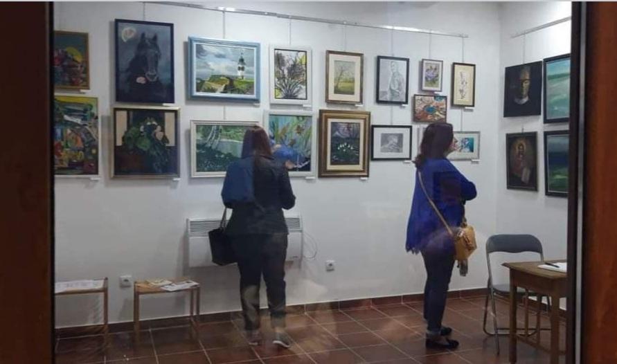 Izložba u Udruženju Likovnih Stvaralaca Novi Sad, Manifestacija Muzeji za 10, 2021