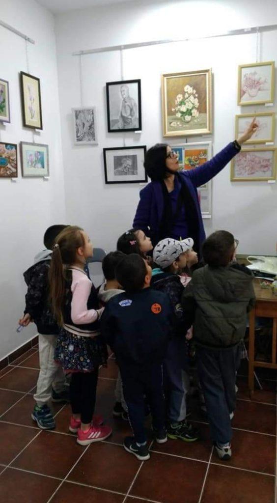 Radioniza za decu u Udruženju Likovnih Stvaralaca Novi Sad, Manifestacija Muzeji za 10, 2021