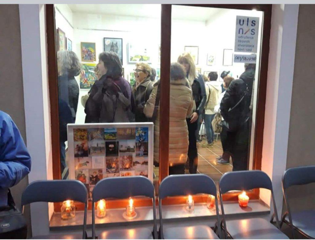Udruženje Likovnih Stvaralaca Novi Sad, Manifestacija Muzeji za 10, Izložba