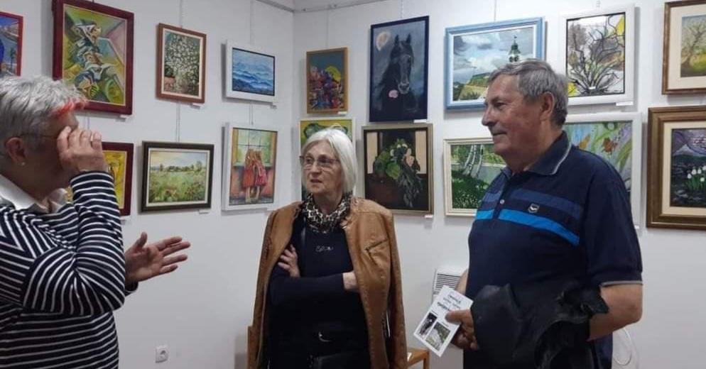 Udruženje Likovnih Stvaralaca Novi Sad, Manifestacija Muzeji za 10, Razgovor o izložbi