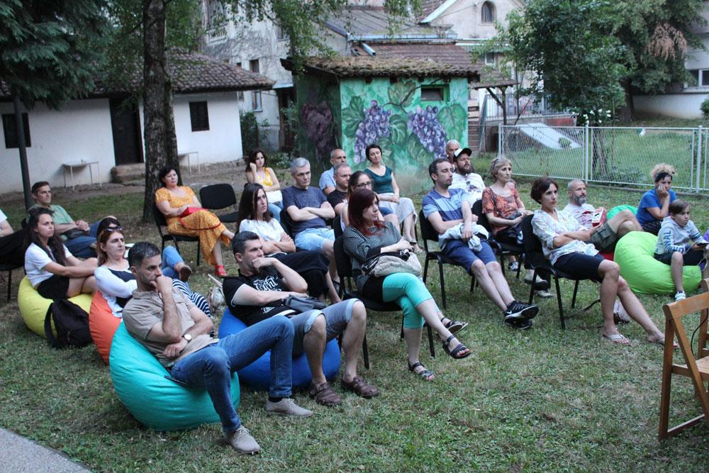 Film Slobodna zona, Kulturni cenar Ribnica, 2021. godine, Manifestacija Muzeji za 10