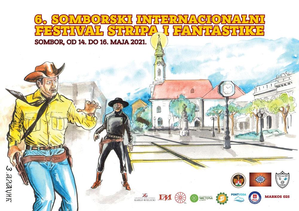 """Eksponat sa izložbe stripa,  Gradski muzej Sombor, """"Muzeji za 10"""", Manifestacija 2021. godine"""